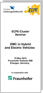 ECPE Workshop: EMC in Hybrid and Electric Vehicles