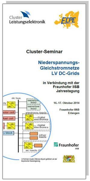 Cluster-Seminar: Niederspannungs-Gleichstromnetze LV DC-Grid
