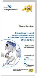 Cluster-Seminar: Echtzeitanalyse und Leistungsmessung von elektr. Maschinen und Stromrichtern