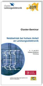 Cluster-Seminar: Netzbetrieb bei hohem Anteil an Leistungselektronik