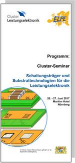 Cluster-Seminar: Schaltungsträger und Substrattechnologien für die Leistungselektronik
