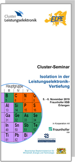 Cluster-Seminar: Isolation in der Leistungselektronik - Vertiefung