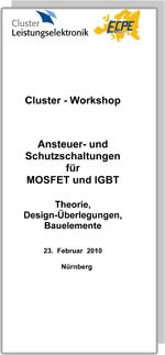 Cluster-Seminar: Ansteuer- und Schutzschaltungen für MOSFET und IGBT