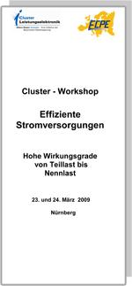 Cluster-Seminar: Effiziente Stromversorgung