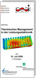 Cluster-Seminar: Thermisches Management in der Leistungselektronik