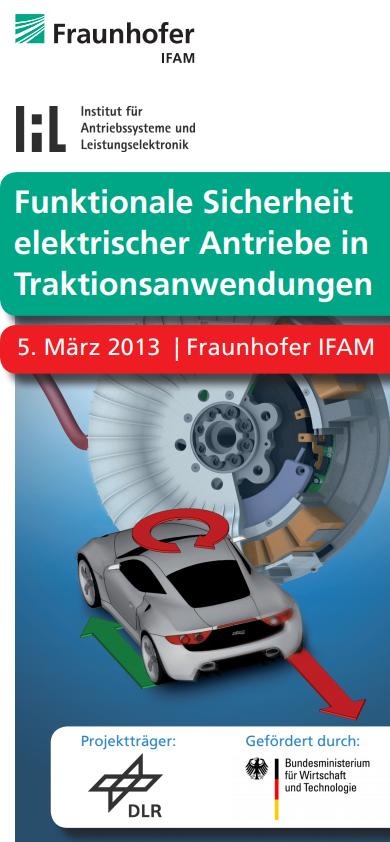 Erhöhung der funktionalen Sicherheit von permanentmagneterregten Synchronmaschinen in Traktionsantrieben (FuSy)