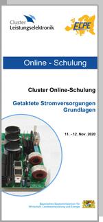 Cluster-Schulung: Getaktete Stromversorgung - Grundlagen    **bis auf Weiteres verschoben**