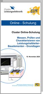 Cluster Online-Schulung: Messen, Prüfen und Charakterisieren von Leistungshalbleiter-Bauelementen - Grundlagen