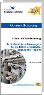ONLINE   Cluster Online-Schulung: Technische Anschlussregeln für die Mittel- und Niederspannung > 135 kW