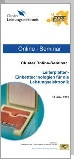 ONLINE | Cluster Online-Seminar: Leiterplatten-Einbetttechnologien für die Leistungselektronik
