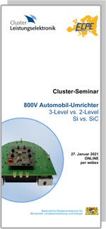 ONLINE | Cluster Online-Seminar: 800V Automobil-Umrichter  3-Level vs. 2-Level, Si vs. SiC