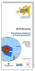ECPE Workshop: Robustness Validation in Power Electronics